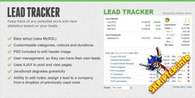 Lead Tracker v1.0 — система управления заявками/лидами