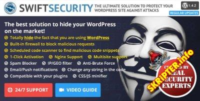 Swift Security Bundle v1.4.2.15 - плагин скрытия системы WordPress и Firewall