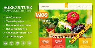 Agriculture v1.6.1 - тема сельского хозяйства для WordPress