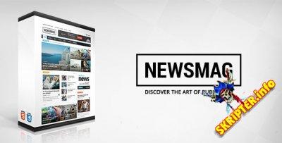 Newsmag v2.2 Rus- новостной шаблон для WordPress