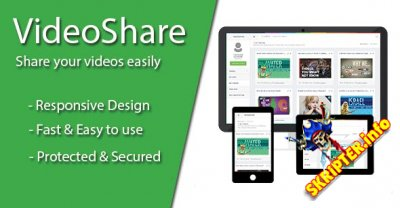 VideoShare v1.0.0.1 - скрипт видео-портала
