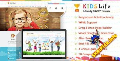 Kids Life v1.6.2 - детский креативный шаблон для Wordpress