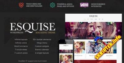 Esquise v1.0.7 - журнальная тема для WordPress