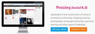 Puzzing Social v4.0 Nulled – Pinterest Clone script