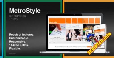 MetroStyle v1.5.1- бизнес шаблон для WordPress