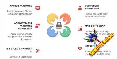 jSecure Authentication v3.3 Rus - защита административной части для Joomla