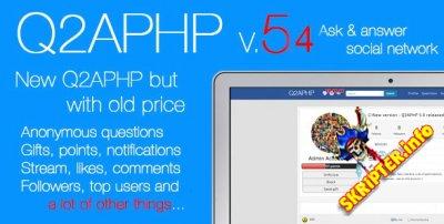 Q2APHP v.5.4 Rus - социальная сеть вопросов и ответов