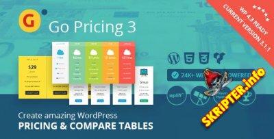 Go Pricing v3.1.1 - таблицы цен для WordPress