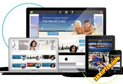 iСonnect - компонент социальной сети для Joomla
