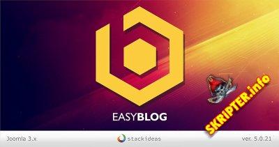 EasyBlog v5.0.21 - компонент создания блогов на Joomla
