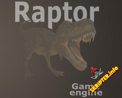 Raptor Game Engine v1.0.2 - движок для создания браузерных MMORPG игр