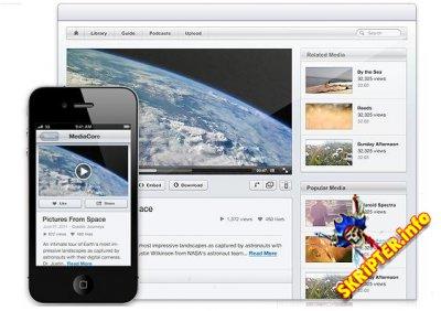 MediaCore 0.10.3 Rus - скрипт для создания видео портала