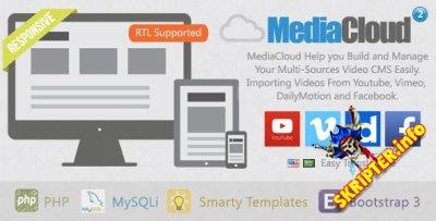 MediaCloud v2.1 - скрипт для создания видео портала