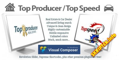 Top Producer v1.3.3 – шаблон недвижимость и автосалон для WordPress