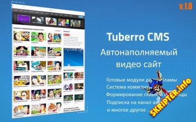 Tuberro v1.0 Rus - автонаполняемый видео сайтом