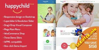 HappyChild v4.4 — детский шаблон для WordPress