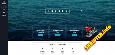 Kraken v1.2.2 - многофункциональный шаблон для Joomla