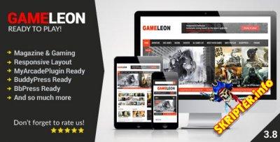 Gameleon v3.8 - игровой шаблон для WordPress