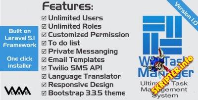 WM Task Manager v1.0 - система управления задачами