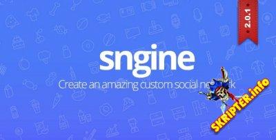 Sngine v2.0.1 Rus - скрипт социальной сети