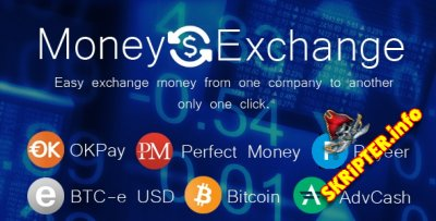 Money Exchange v1.1 - скрипт обмена цифровой валюты