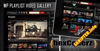 Playlist Video Gallery v1.3.2 - видео галерея для WordPress