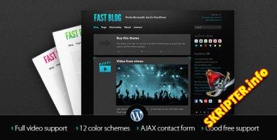 Fast Blog v1.7.4 - блоговый шаблон для WordPress