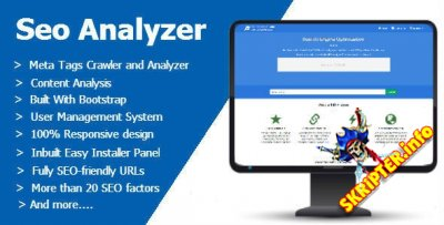 Seo Analyzer v1.1 - скрипт SEO-инструментов