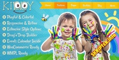 Kiddy v1.0.0 - детский шаблон для Wordpress