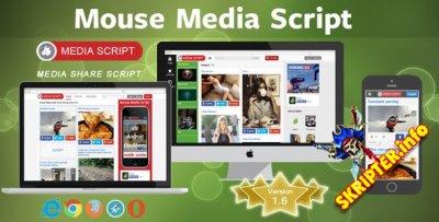 Mouse media v1.6 - скрипт для создания сайта быстрого наполнения
