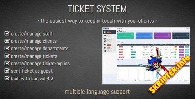 Ticket System v1.0 - система тикетов для сайта