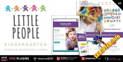 Little People v1.1.1 - детский шаблон для Wordpress