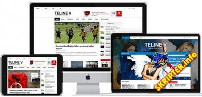 JA Teline V v1.0.7 - новостной шаблон для Joomla