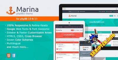 Marina v2.0.1 - шаблон для форума phpBB