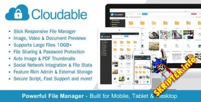 Cloudable v1.1 – скрипт хостинга файлов