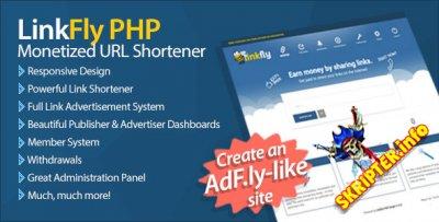 LinkFly v1.0 - скрипт сервиса коротких ссылок
