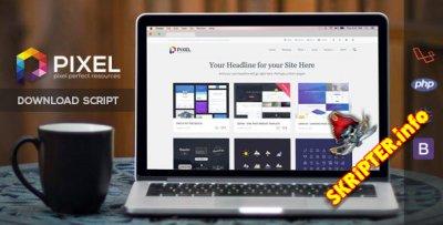 Pixel v1.0.2 - скрипт для создания своего мультимедийного сайта