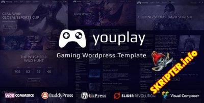 Youplay v3.1.1 - игровой шаблон для Wordpress