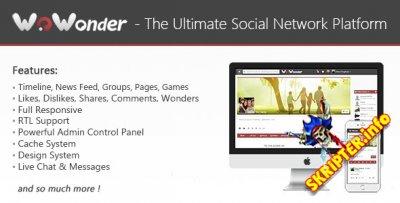 WoWonder v1.3 Rus - скрипт социальной сети