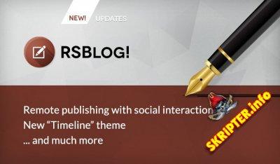 RSBlog! v1.13.3 Rus - компонент блога для Joomla