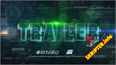Futuristic Trailer - Project for After Effects (Videohive)