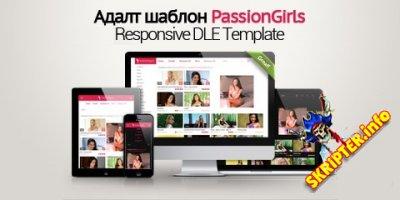 PassionGirls - адаптивный эротический адалт шаблон для DLE