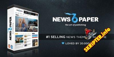 Newspaper v6.7 Rus - журнальный шаблон для WordPres
