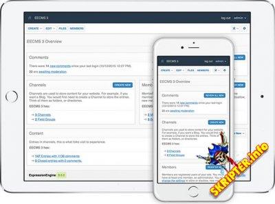 ExpressionEngine v3.2.1 Rus - мультисайтовая система управления контентом