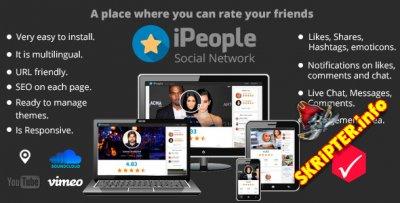 iPeople v1.0 - скрипт социальной сети