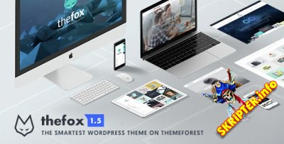 TheFox v1.599 - универсальный шаблон для WordPress