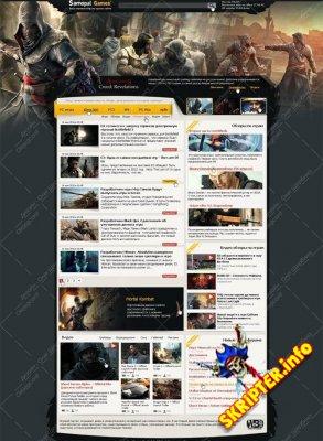 Samopal Games - игровой шаблон для DLE