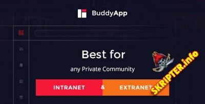 BuddyApp v1.5.6 - шаблон создания сайта сообщества для WordPress