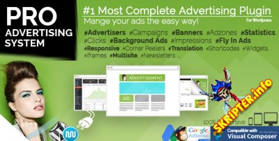 WP PRO Advertising System v4.6.20 - менеджер рекламы на сайте WordPress