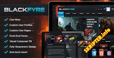 Blackfyre v1.9.9 - игровой шаблон для WordPress